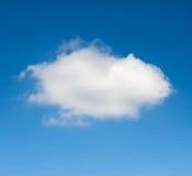 obłoczny błękit niebo Fotografia Royalty Free