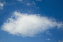 obłoczny błękit niebo Fotografia Stock