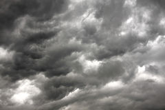 obłoczny deszcz Fotografia Royalty Free