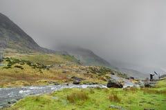 obłoczny deszcz Zdjęcie Royalty Free