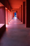 obłoczny korytarz obraz stock