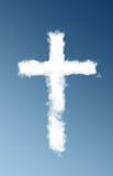 obłoczny krzyż Zdjęcia Stock