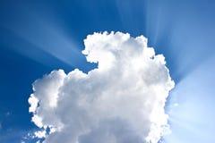obłoczny niebo Obrazy Stock