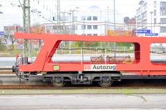 OB Autozug Stock Foto