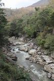 Ob Luang Mountain river Stock Image