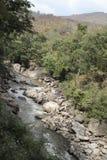 Ob Luang Mountain river Stock Photography