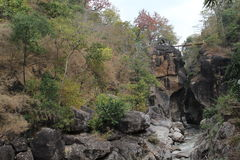 Ob Luang Mountain river Royalty Free Stock Photos