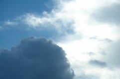 obłoczna burza obraz stock