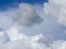 obłoczna burza Fotografia Stock