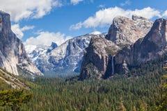 Obłoczna formacja nad Yosemite Ja Zdjęcie Royalty Free
