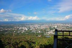 Obłoczna nieba naturel góry sceneria Zdjęcie Royalty Free