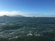 obłoczna oceanu nieba widok woda Zdjęcie Stock
