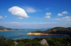 obłoczne wyspy Zdjęcia Stock