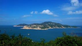 obłoczne wyspy Obraz Royalty Free