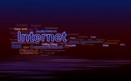 obłoczni internety Zdjęcie Stock