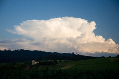 obłoczny cumulonimbus obraz royalty free