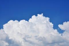 obłoczny cumulus Obrazy Royalty Free