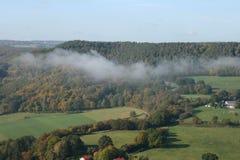 Obłoczny las Zdjęcie Royalty Free