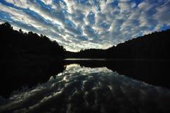 obłoczny niebo fotografia royalty free