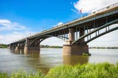 Ob'trasversale del ponte Fotografie Stock Libere da Diritti