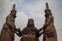 Oba Бенина стоковые фотографии rf