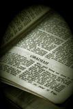 obadiah sepiowe biblii serii zdjęcia stock