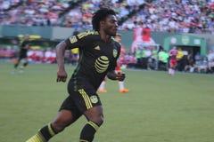 Obafemi Martins Seattle Sounders en avant Images stock