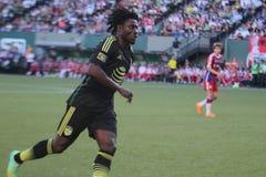 Obafemi Martins Seattle Sounders en avant Photo libre de droits