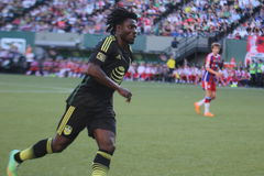 Obafemi Martins Seattle Sounders forward Royalty Free Stock Photo