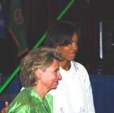 obama της Michelle Στοκ φωτογραφίες με δικαίωμα ελεύθερης χρήσης