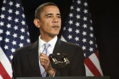 obama总统 免版税库存照片
