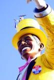 Barack Obama. Obama-bin laden viareggio carnival Stock Photography