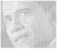 Obama datilografado Imagens de Stock Royalty Free