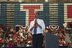 Obama en Kokomo 65 Foto de archivo libre de regalías