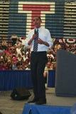 Obama en Kokomo 68 Imagen de archivo libre de regalías