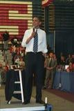 Obama en Kokomo 72 Imagen de archivo