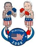 Obama et McCain Photographie stock libre de droits