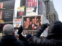 Obama Inauguration, NY Watches Royalty Free Stock Images