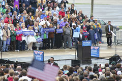 Obama in Indianapolis 99 Stock Photography