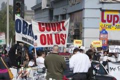 Obama Rathaus Lizenzfreies Stockfoto