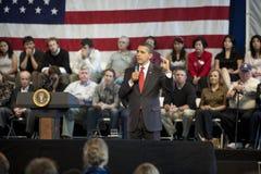 Obama Rathaus Stockfotografie