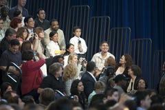 Obama Rathaus Lizenzfreie Stockfotos