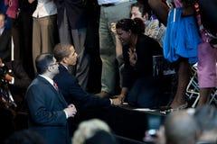 Obama Rathaus Stockfoto