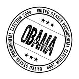 Obama rubber stamp Stock Photo