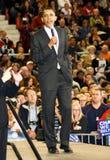 Obama spricht nach Arizona Stockbild