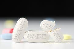 Obamacare de lois de discussion de réforme de soins de santé photographie stock