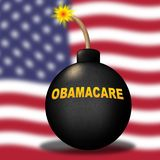 Obamacare Repeal Or Replace Us Healthcare Reform - 3d Illustration royalty free stock photos