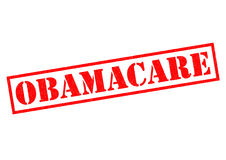 OBAMACARE Rubber Stamp Royalty Free Stock Photos