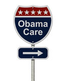 ObamaCare Sign Stock Image