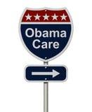 ObamaCare znak Obraz Stock